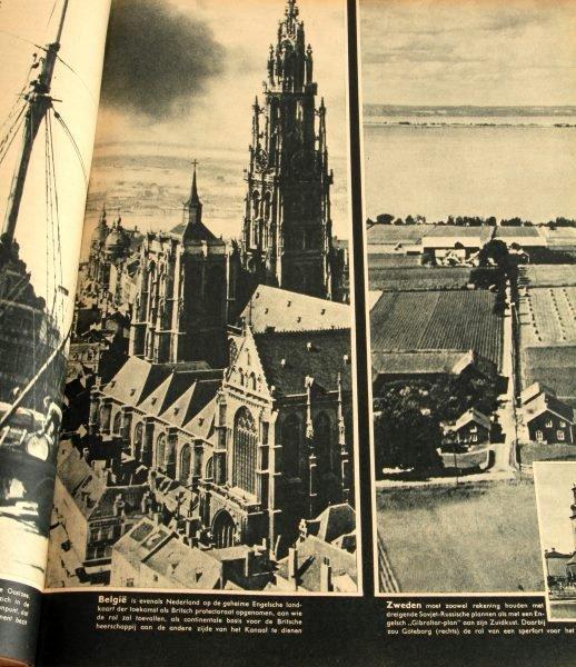 WWII GERMAN #1 TO #24 1943 BOUND SIGNAL MAGAZINE - 4