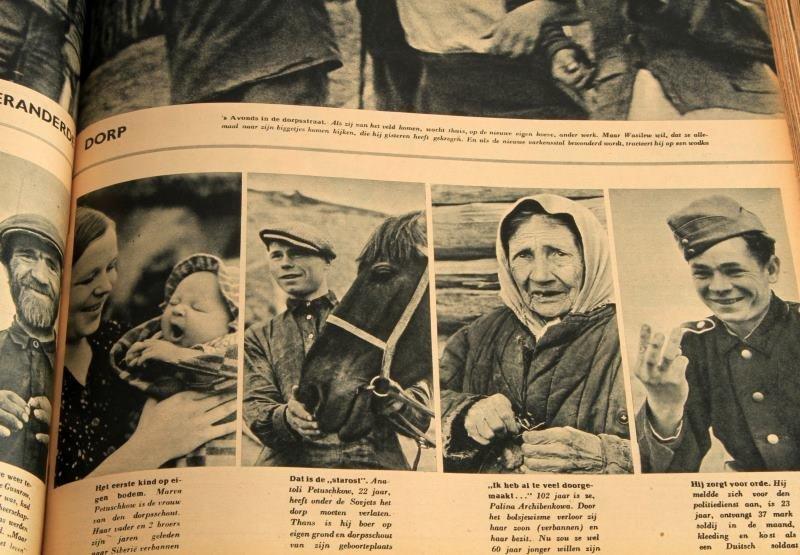 WWII GERMAN #1 TO #24 1943 BOUND SIGNAL MAGAZINE - 6