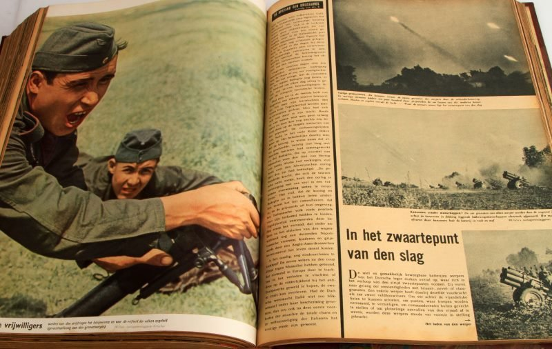 WWII GERMAN #1 TO #24 1943 BOUND SIGNAL MAGAZINE - 7