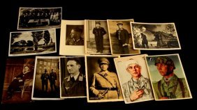 12 Wwii German Postcards Kriegsmarine Heer