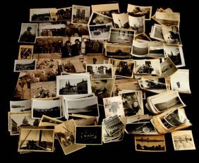 Wwii Large Photograph Lot Gi Photos And German