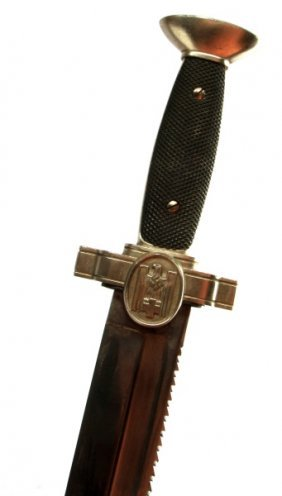 Wwii Third Reich German Red Cross Enlisted Dagger