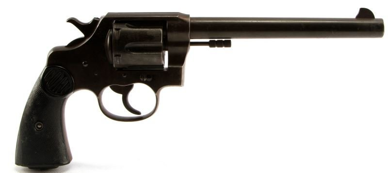 COLT DOUBLE ACTION NEW SERVICE REVOLVER .45 LONG