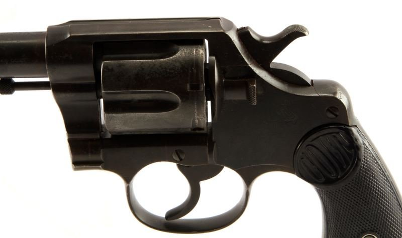 COLT DOUBLE ACTION NEW SERVICE REVOLVER .45 LONG - 3