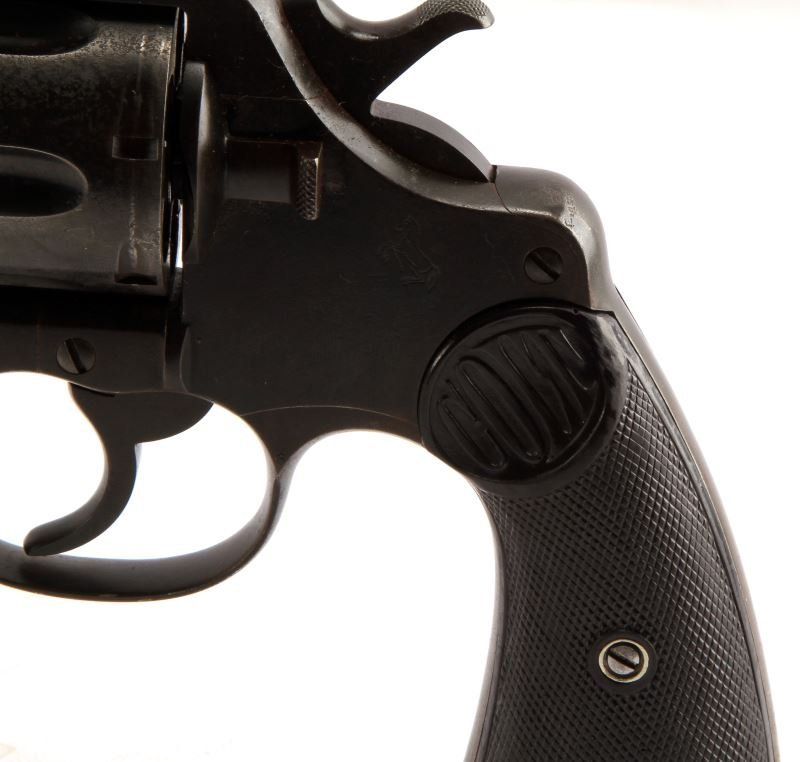 COLT DOUBLE ACTION NEW SERVICE REVOLVER .45 LONG - 4