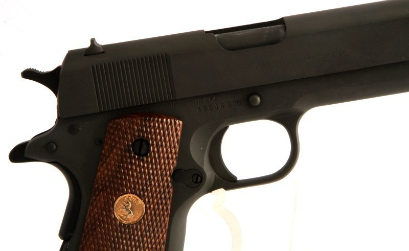 U.S. GOVERNMENT MODEL 1911 COLT .45 AUTO PISTOL - 2