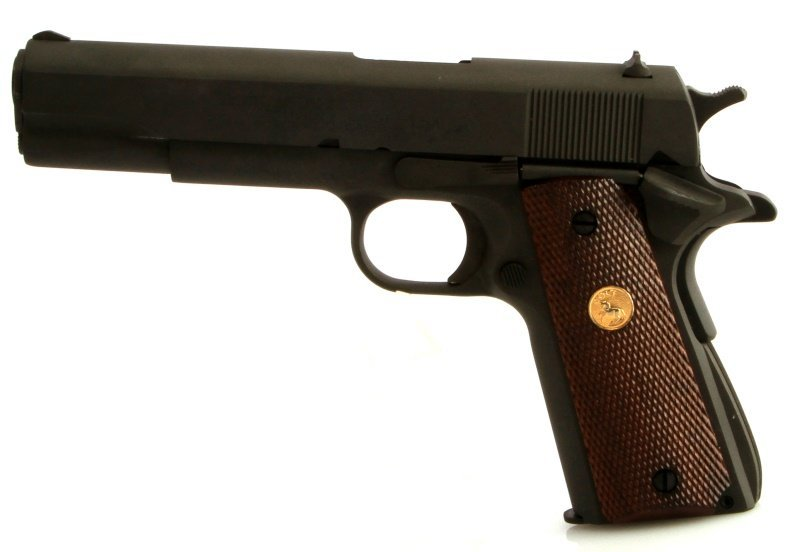 U.S. GOVERNMENT MODEL 1911 COLT .45 AUTO PISTOL - 4