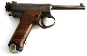 Japanese Nambu 8mm Semi Automatic Pistol W Holster