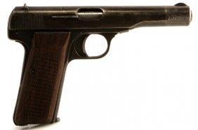 Browning Patent Belgium 1922 Semi Auto Pistol .32
