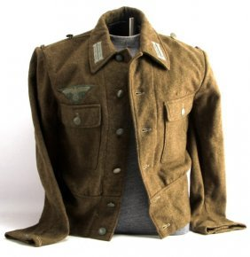 Wwii German Third Reich Fatigue Uniform Jacket