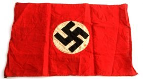 Wwii Third Reich German Small Nsdap Party Flag