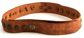 Wwi German Hate Belt With 26 Buttons