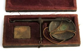 Us Issued Civil War Field Apothecary Medical Scale