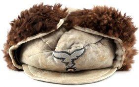 Wwii Third Reich Luftwaffe Eastern Front Fur Hat