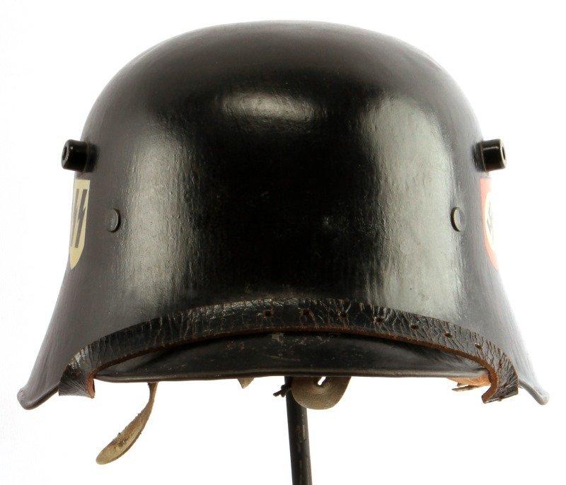 WWII GERMAN THIRD REICH M18 TRANSITIONAL SS HELMET