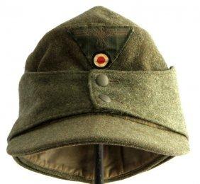 Wwii Third Reich Bergmutze Mt. Troops M43 Cap