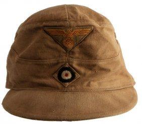 Wwii German Wehrmacht Afrika Korps Tropical Cap