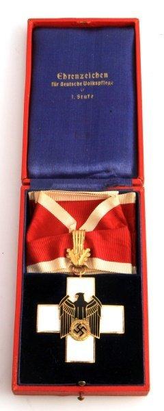 Wwii Third Reich German Social Welfare Cross 1st