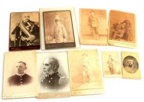 10 Antique Cabinet Photos Masonic & Military
