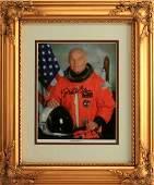 ASTRONAUT JOHN GLENN HAND SIGNED NASA PHOTO