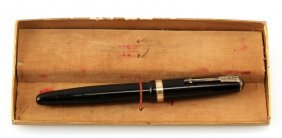 Vintage Parker Vacumatic Fountain Pen With Box