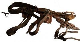 Vintage Telephone Lineman Gear 2 Belts & Climbers