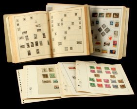 2 Stamp Albums & 21 Pages Of Mint Stamps