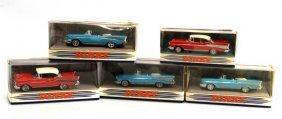 5 1957 Dinky Toy Chevrolet Bel Air