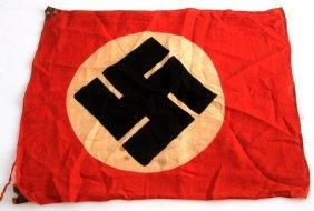 Wwii Third Reich German Small Swastika Flag