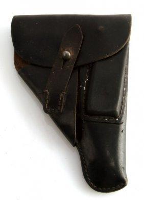 Walther Ppk Black Leather Holster Vintage