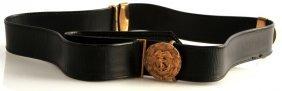 Vintage Us Coast Guards Sword Belt W Lion Hangers