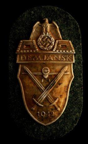 German Wwii Third Reich Demyansk Shield