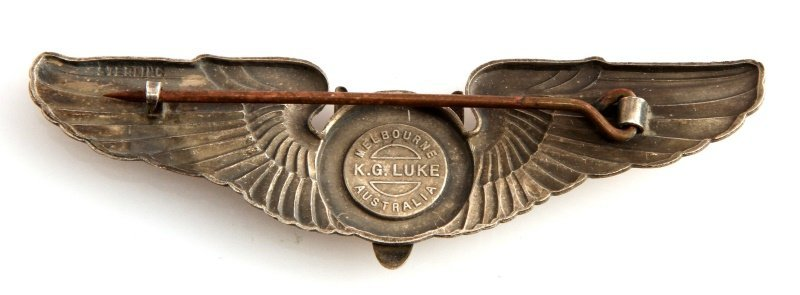WWII USAAF ARMY AIR FORCE AERIAL GUNNER WING - 2