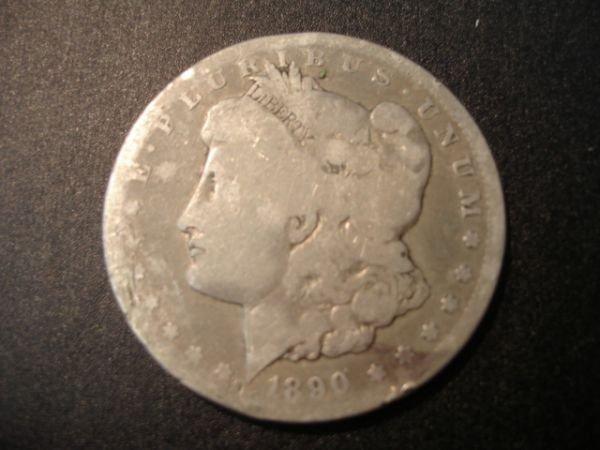 73: 1890 CARSON CITY MORGAN SILVER DOLLAR