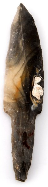 Lithic 8.5'' Belize Pre-columbian Flint Blade