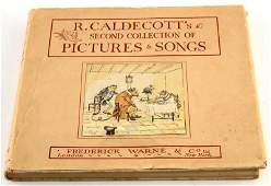 R. CALDECOTT'S SECOND COLLECTION PICTURES SONGS