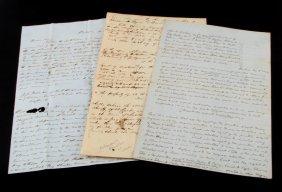 3 Slave Documents Levy Sale Estate Disbursement