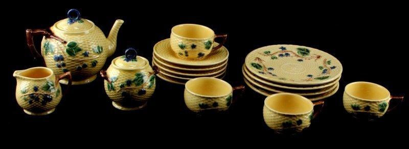 TIFFANY & CO. BLACKBERRY CHINA TEA SET 4 PORTUGAL
