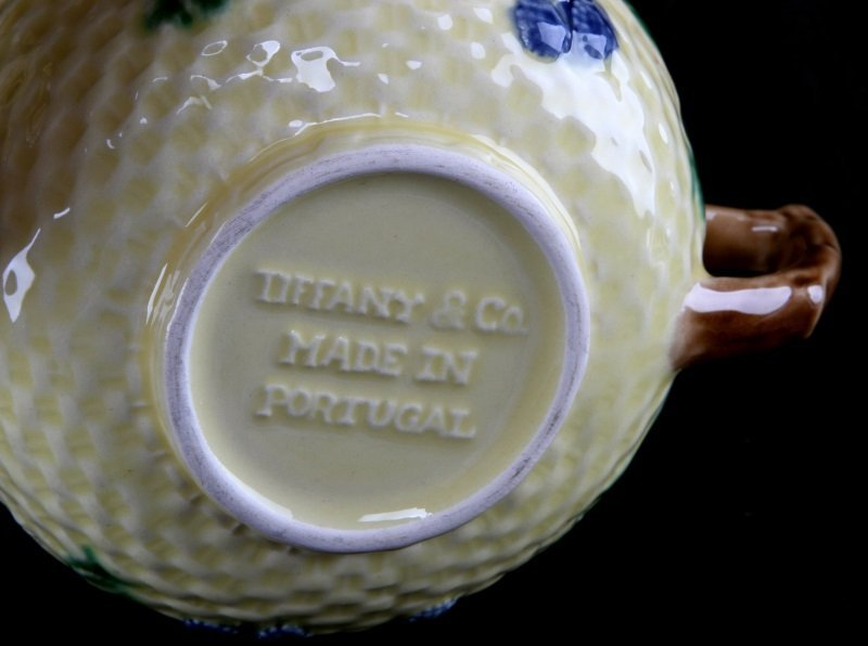 TIFFANY & CO. BLACKBERRY CHINA TEA SET 4 PORTUGAL - 6
