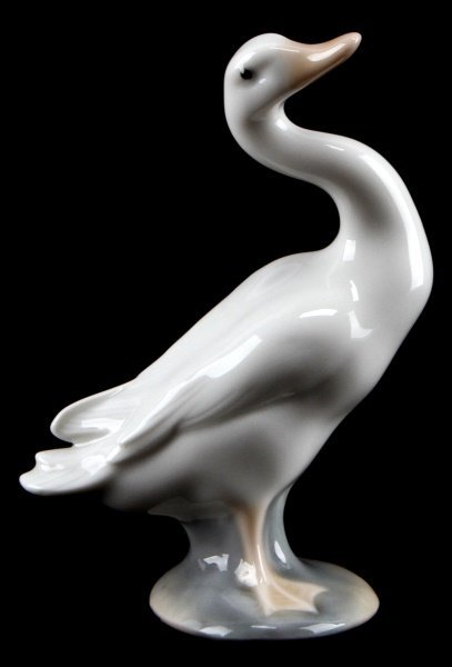 LLADRO LITTLE DUCK 4.5 INCHES RETIRED PORCELAIN