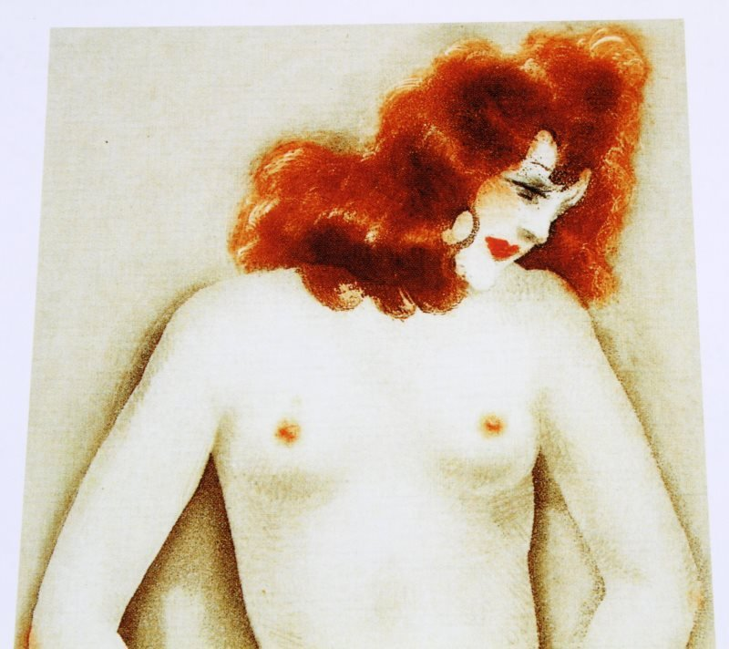 LOUIS ICART (FRENCH) NUDE LITHOGRAPH ON PAPER - 2