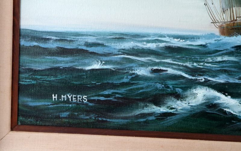 FRANK HARMON MYERS (AMERICAN, 1899-1956) OIL - 3