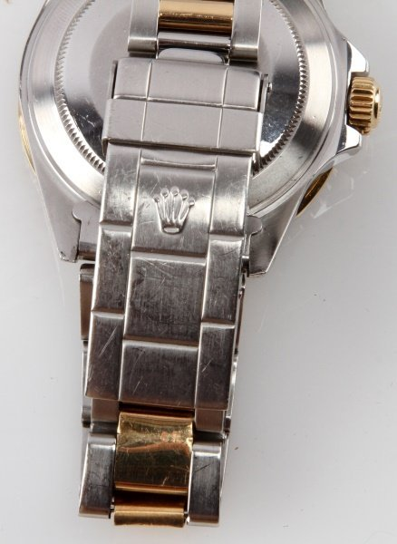 ROLEX SUBMARINER 18K/SS TWO TONE MEN'S DIVER WATCH - 4
