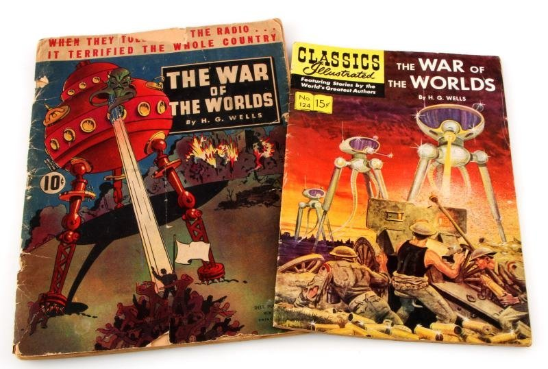 1939 DELL PBLSG & CLASSIC COMICS WAR OF THE WORLDS