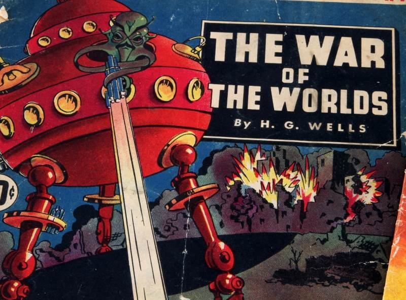 1939 DELL PBLSG & CLASSIC COMICS WAR OF THE WORLDS - 2