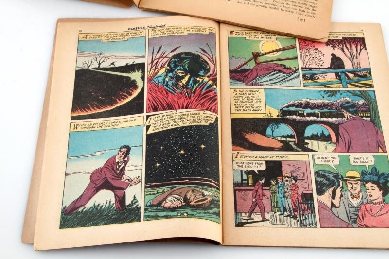 1939 DELL PBLSG & CLASSIC COMICS WAR OF THE WORLDS - 3