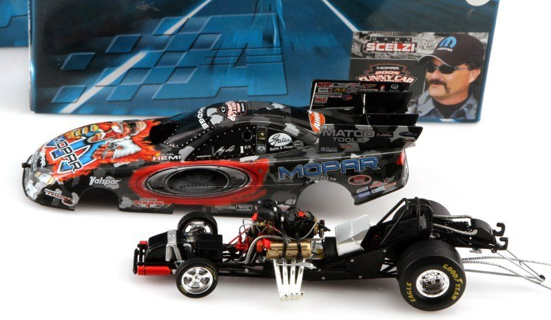 TWO ACTION 1:24 SCALE 2005 CHARGER FUNNY CARS - 2