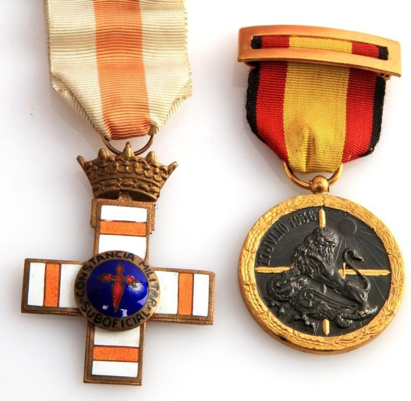 WWII CONDOR LEGION LOT BADGES SASH BELT CASE - 3