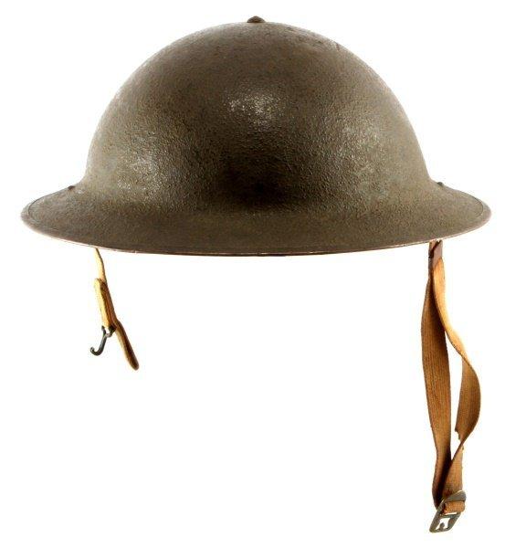 WWII M1917A1 BRODIE HELMET LAST ISSUE