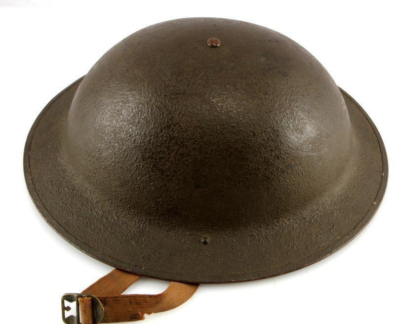 WWII M1917A1 BRODIE HELMET LAST ISSUE - 2